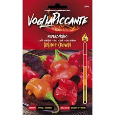 VOGLIAPICCANTE PEPPER SEEDS - BISHOP CROWN