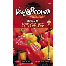 VOGLIAPICCANTE PEPPER SEEDS - SCOTCH BONNET MIX